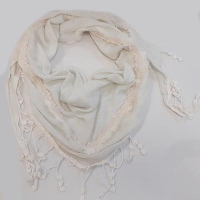 Dámský moderní šátek Marika slonová kost