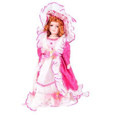 DOLL porcelánová panenka Veris 40 cm