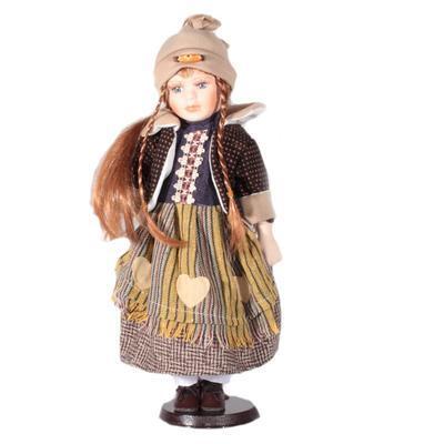 DOLL porcelánová panenka Brigitte 40 cm