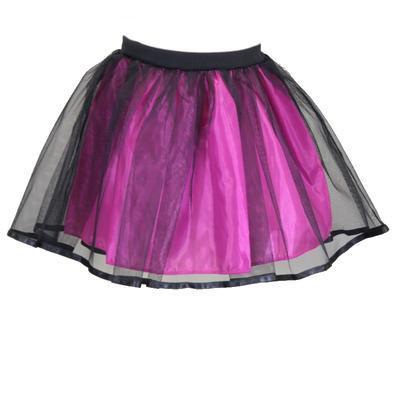 Dívčí tmavě růžová tutu sukně Nesy - 1
