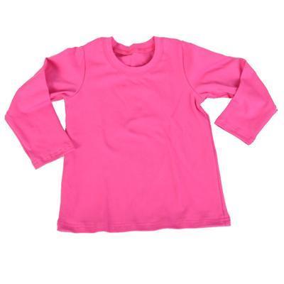Tričko dlouhý rukáv Marlen tmavě růžové od 98-116
