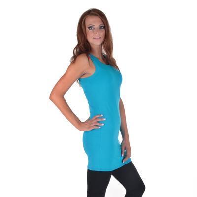 Tmavo modré letné šaty Pandora - 1
