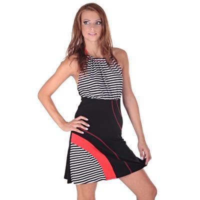 Letní šaty Seal se zavazováním za krk - 1