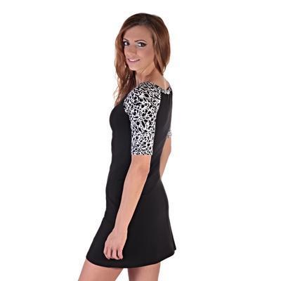 Elegantné dámske šaty Black - 1