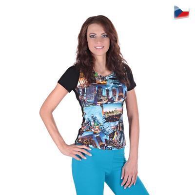 Dievčenské tričko Baily s moderným potlačou - 1