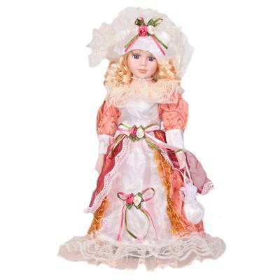 DOLL porcelánová panenka Nicola 40 cm