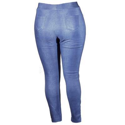 Zimní modré kalhotové legíny Bohdan - 1