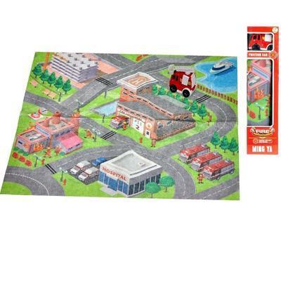 Dětská hrací podložka hasiči Roby