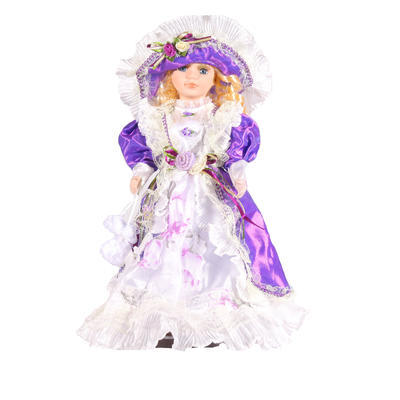 DOLL porcelánová panenka Sue 30cm