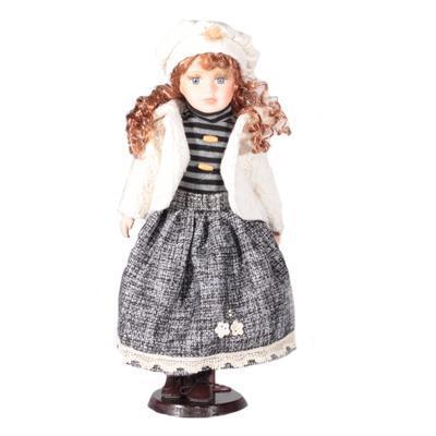 DOLL porcelánová panenka Bloss 40 cm
