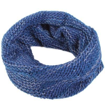 Hřejivá dámská kukla Irene modrá - 1