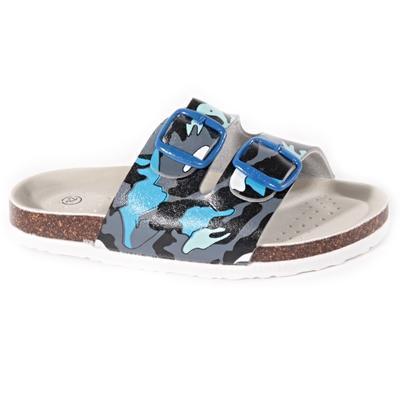 Detské papuče Army modré - 1