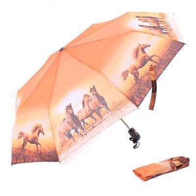 Skládací deštník Kyra - motiv koně - 1