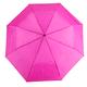 Jednofarebný skladací dáždnik Lejla ružový - 1/2