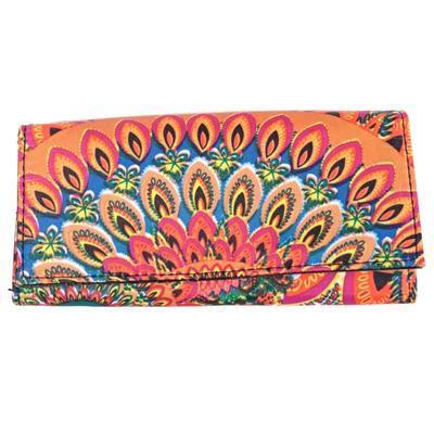 Luxusná dámska peňaženka Ella oranžová - 1