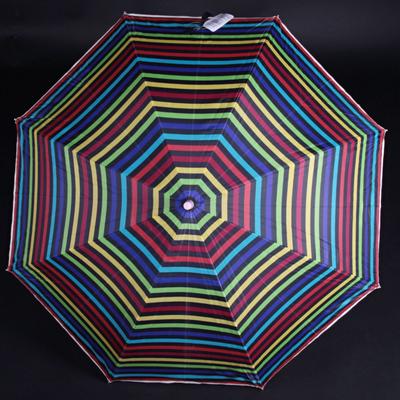 Pruhovaný dáždnik Dora farebný - 1