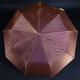 Luxusný dámsky skladací dáždnik DARSI hnedý - 1/2