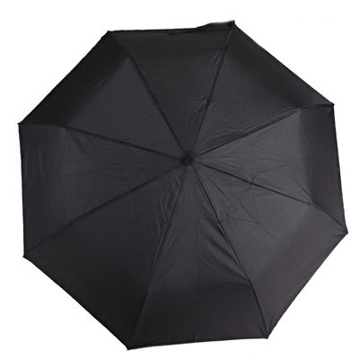 Pánsky skladací čierny dáždnik Mateo - 1