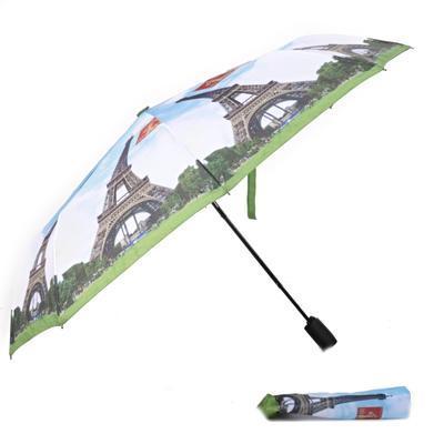 Malý skladací dáždnik Miles motív Eiffelova veža - 1
