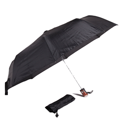 Pánsky čierny dáždnik Nico - 1