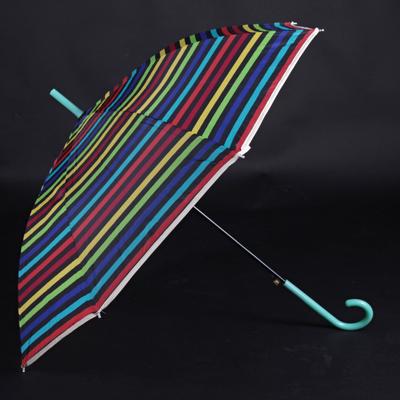 Pruhovaný dáždnik Dora zelený - 1