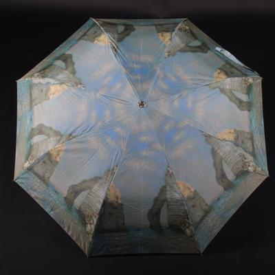 Farebný skladací dáždnik Abbie - 1