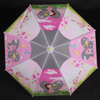 Detský vystreľovací dáždnik Tim žltý - 1