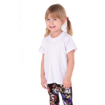 Detské tričko krátky rukáv Laura biele od 122-146 - 1