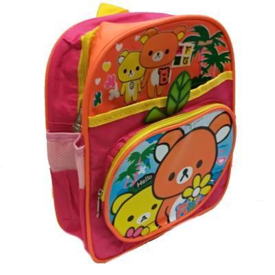 Dětský růžový batoh Riky - 1