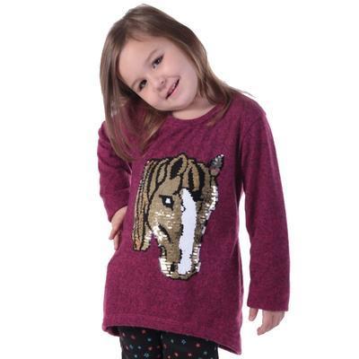 Dívčí svetr s měnícím obrázkem Pedro - 1