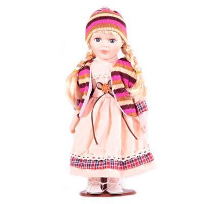 DOLL porcelánová panenka Christel 30 cm