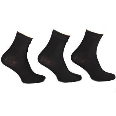 Černé dámské bambusové ponožky Simona