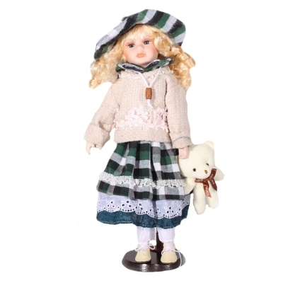 DOLL porcelánová panenka Kora 40 cm