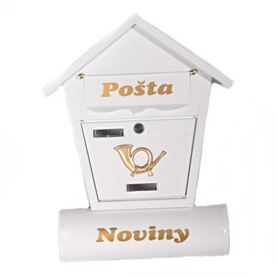 Poštová schránka Ponty biela