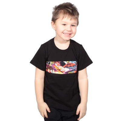 Detské tričko s grafity Lucie od 98-116 - 2