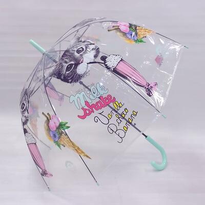 Vystřelovací deštník Mourek tyrkysový - 2