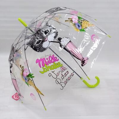 Vystřelovací deštník Mourek zelený - 2
