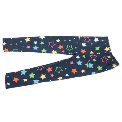 Dětské zimní legíny Hvězdičky modré - 2