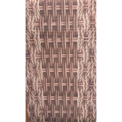 Gumová koupelnová rohož 65cm  Libor v hnědé barvě - 2