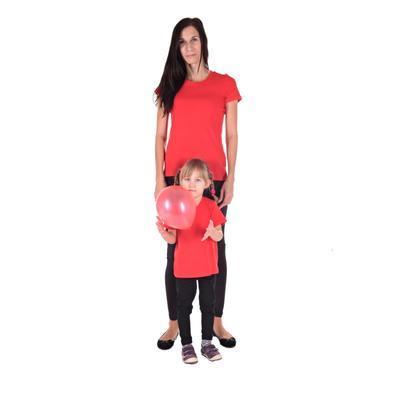 Červené detské tričko krátky rukáv Laura od 122-146 - 2