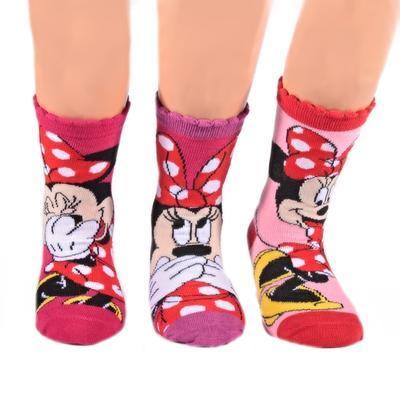 Klasické dívčí ponožky Minnie Mouse P4a - 2