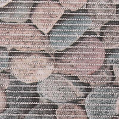 Gumová kúpeľňové rohože 65cm Kameny šede - 2