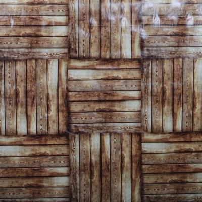 Umývateľný obrus motív Drevo metráž - 2