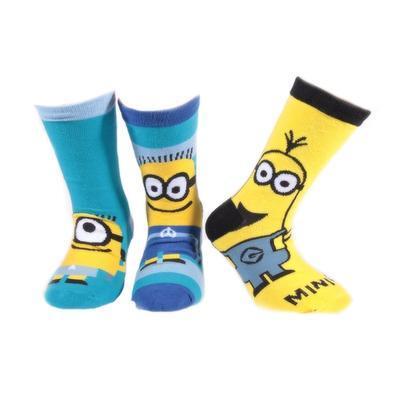 Klasické dětské ponožky Mimoni P3d - 2