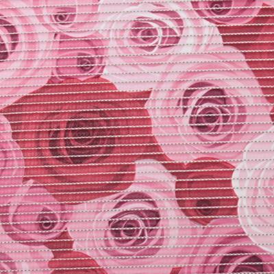 Gumová kúpeľňové rohože 65cm Ruže - 2
