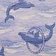 Gumová kúpeľňové rohože 65cm Delfín - 2/2