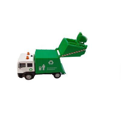 Popelářské auto na baterie 15cm Donald - 2
