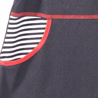 Dievčenské šaty krátky rukáv Lucie - 2