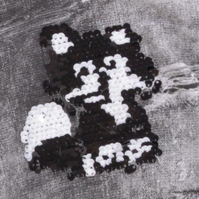Dívčí vyteplené legíny Emilie černé - 2