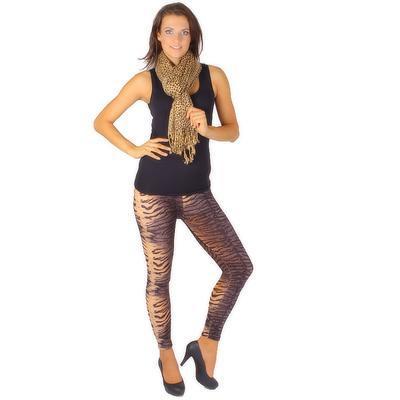 Trendy šátek Nancy hnědý - 2